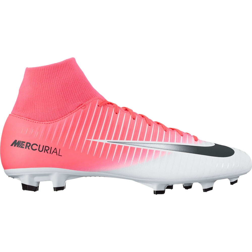 arrives the best attitude in stock Nike Mercurial Victory VI DF FG Soccer Cleats (Racer Pink/Black/White)