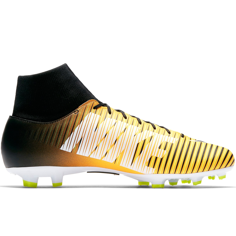 newest e7dce fb1ab Nike Mercurial Victory VI DF FG Soccer Cleats (Laser  Orange/Black/White/Volt)