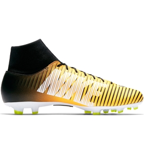 Nike Mercurial Victory VI DF FG Soccer Cleats (Laser Orange/Black/White/Volt)