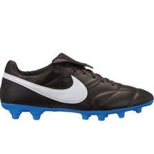 Nike Premier II FG Soccer Cleats (Velvet Brown/White/Blue Hero)