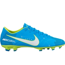 Nike Mercurial Victory VI FG Neymar Soccer Cleats (Blue Orbit/White/Armory Navy)