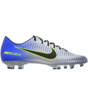 Nike Neymar Mercurial Victory VI FG Soccer Cleats (Racer Blue/Black/Chrome/Volt)