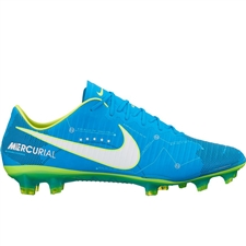 Nike Mercurial Vapor XI FG Neymar Soccer Cleats (Blue Orbit/White/Armory Navy)