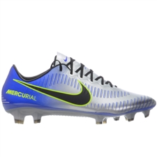 Nike Neymar Mercurial Vapor XI FG Soccer Cleats (Racer Blue/Black/Chrome/Volt)