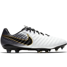 Nike Legend 7 Pro FG Soccer Cleats (White/Black)