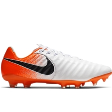 Nike Legend 7 Pro FG Soccer Cleats (White/Black/Hyper Crimson)