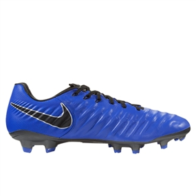 Nike Legend 7 Pro FG Soccer Cleats (Racer Blue/Black/Metallic Silver)