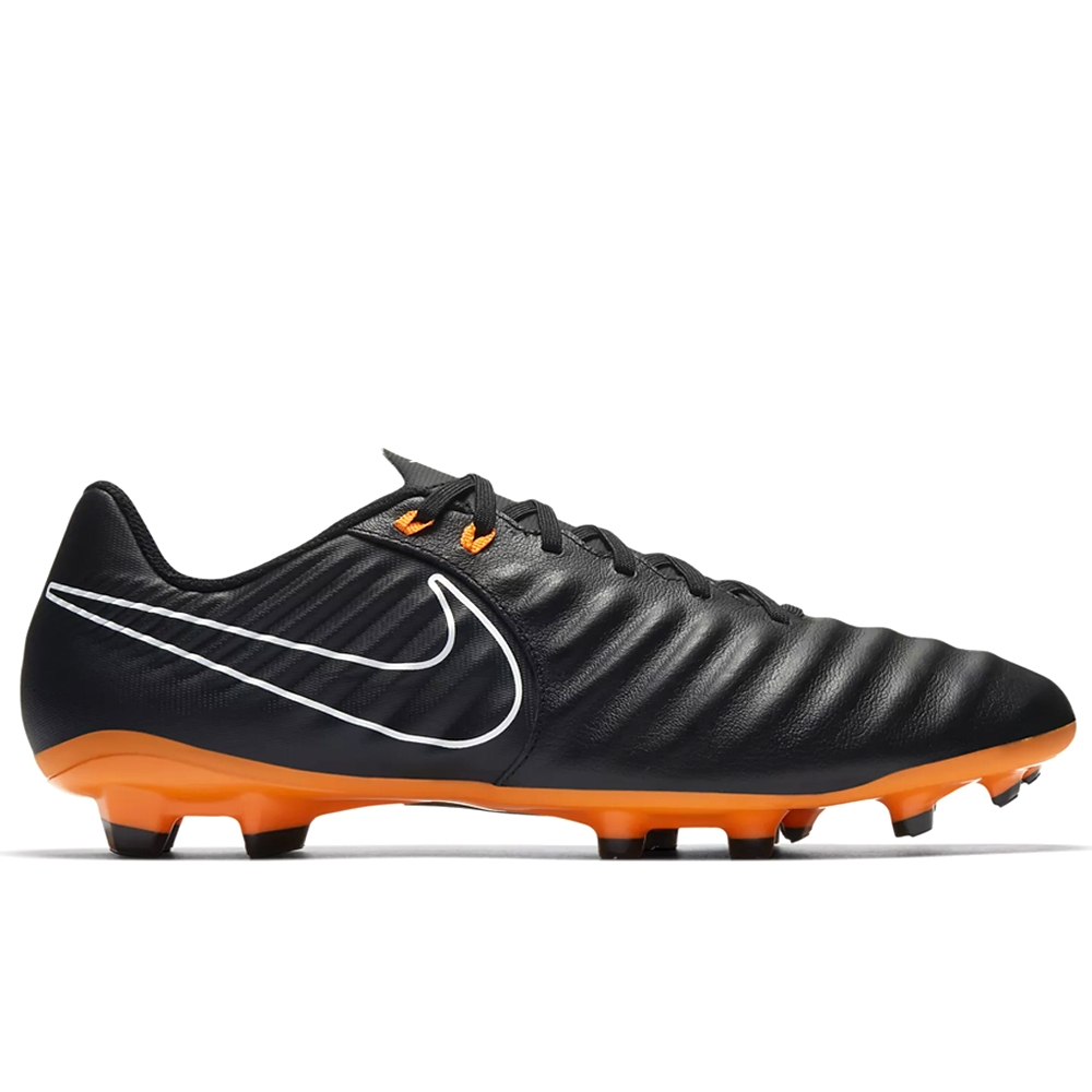 new style 60a11 003d8 Nike Tiempo Legend VII Academy FG Soccer Cleats (Black/Total Orange/White)