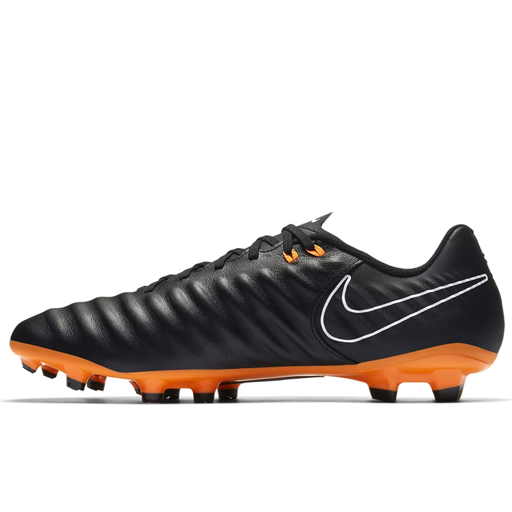 new style a19c7 ffdc3 Nike Tiempo Legend VII Academy FG Soccer Cleats (Black/Total Orange/White)