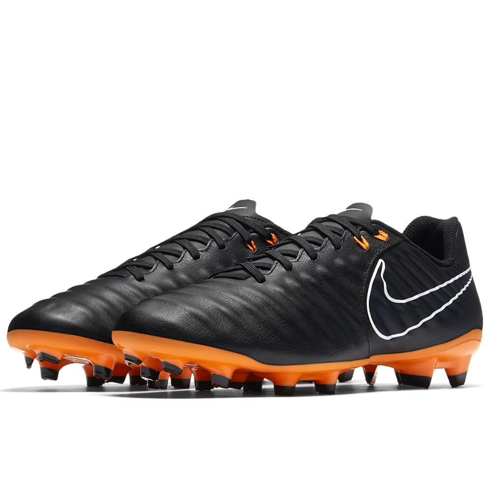 1b07b37e868 Nike Tiempo Legend VII Academy FG Soccer Cleats (Black Total Orange ...