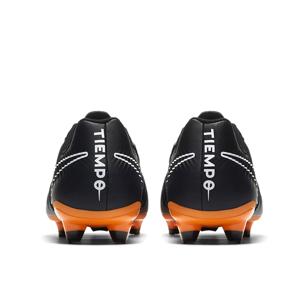 new style 449a3 8e50c Nike Tiempo Legend VII Academy FG Soccer Cleats (Black/Total Orange/White)