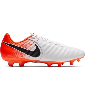 Nike Legend 7 Academy FG Soccer Cleats (White/Black/Hyper Crimson)