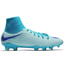 outlet store b9987 7c61f ... Nike Hypervenom Phantom III Academy DF FG Soccer Cleats (Glacier Blue Persian  Violet