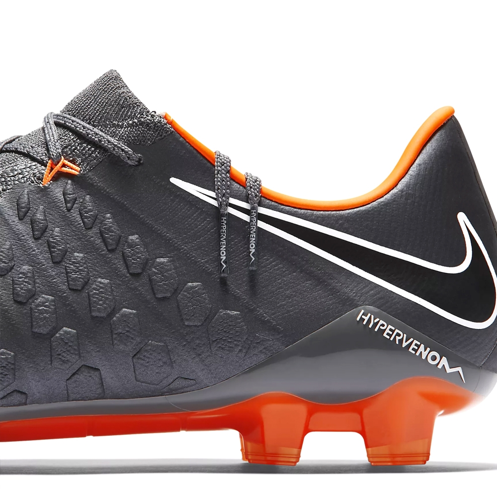 75a211190773e4 Nike Hypervenom Phantom III Elite FG Soccer Cleats (Dark Grey Total ...