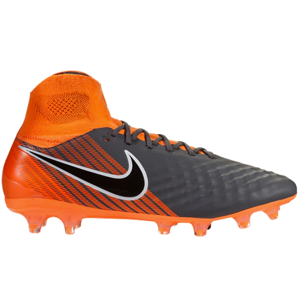67df84a15a91 Nike Magista Obra II Pro DF FG Soccer Cleats (Dark Grey Black Total ...