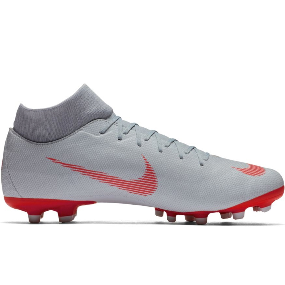 f33bb4518 Nike Superfly VI Academy MG Soccer Cleats (Wolf Grey Light Crimson ...