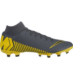 Nike Superfly 6 Academy MG Soccer Cleats (Dark Grey/Black)
