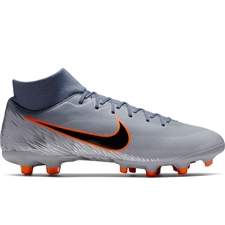 Nike Superfly 6 Academy MG Soccer Cleats (Armory Blue/Black/Wolf Grey)