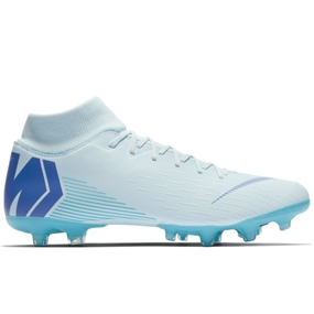 Nike Superfly VI Academy MG Soccer Cleats (Glacier Blue/Persian Violet/Gamma Blue)