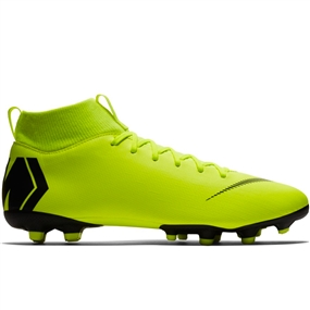Nike Superfly 6 Academy MG Soccer Cleats (Volt/Black)
