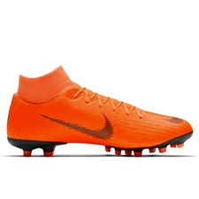Nike Mercurial Superfly VI Academy FG / MG Soccer Cleats (Total Orange/Black/Volt)