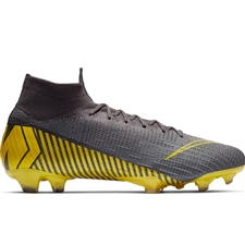 Nike Superfly 6 Elite FG Soccer Cleats (Thunder Grey/Black/Dark Grey)