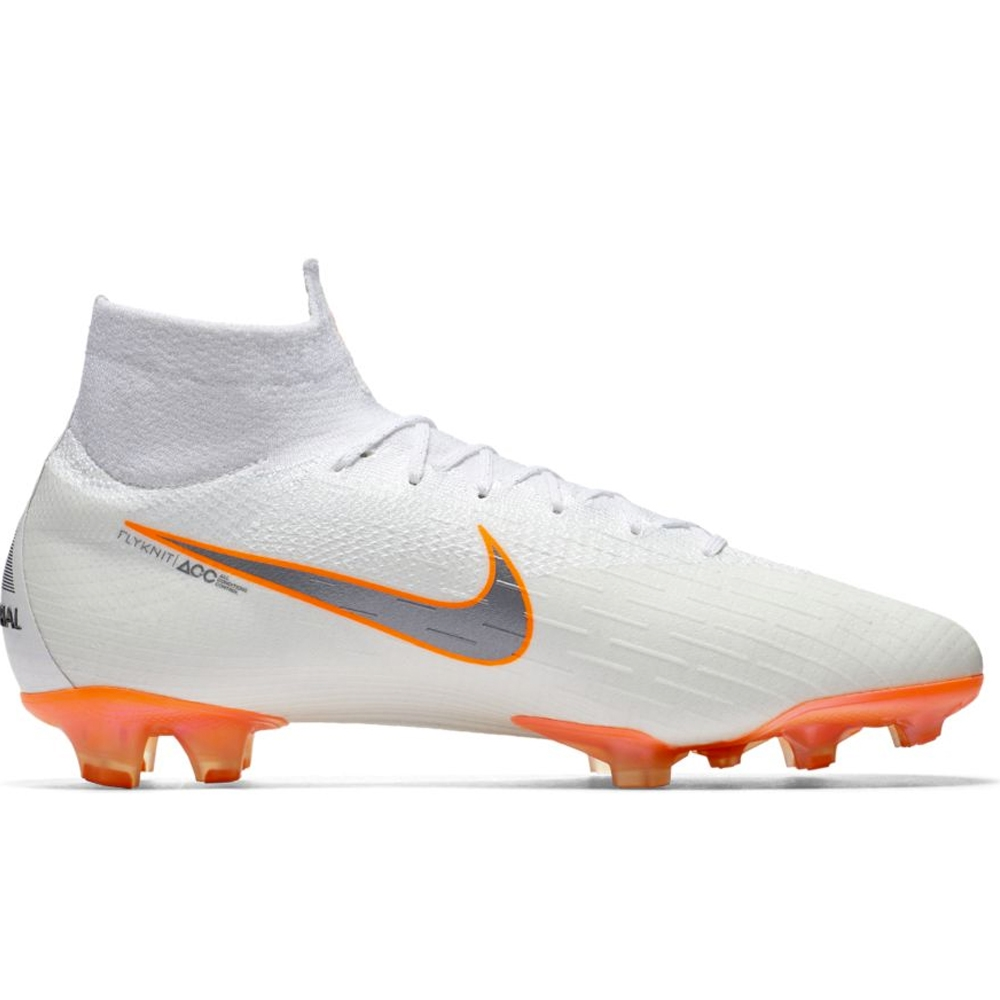 31f4d3a428 ... SG-PRO Anti Clog AH7366-060  popular brand a5569 ac267 Nike Superfly VI  Elite FG Soccer Cleats (White Metallic Cool Grey ...