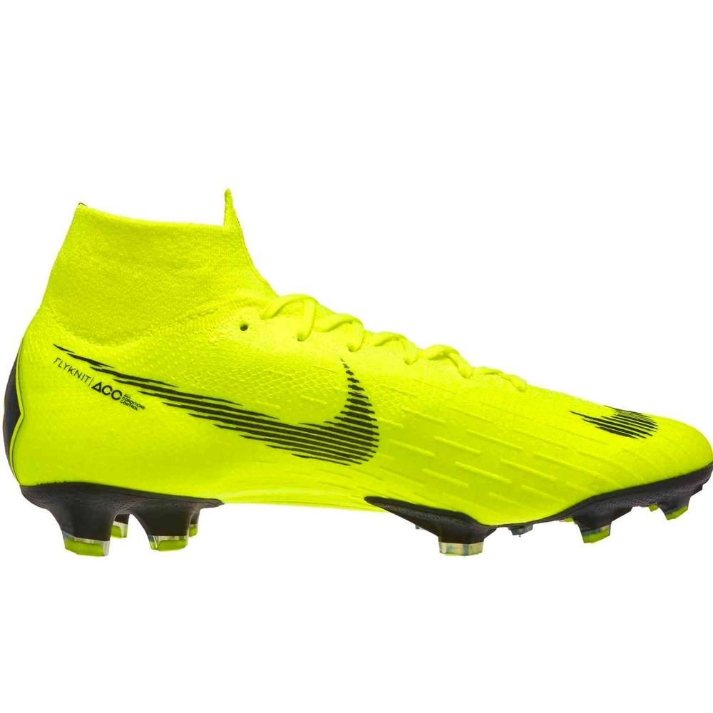 best service 66081 492bb Nike Superfly 6 Elite FG Soccer Cleats (Volt/Black)
