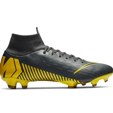 Nike Superfly 6 Pro FG Soccer Cleats (Dark Grey/Black/Opti Yellow)