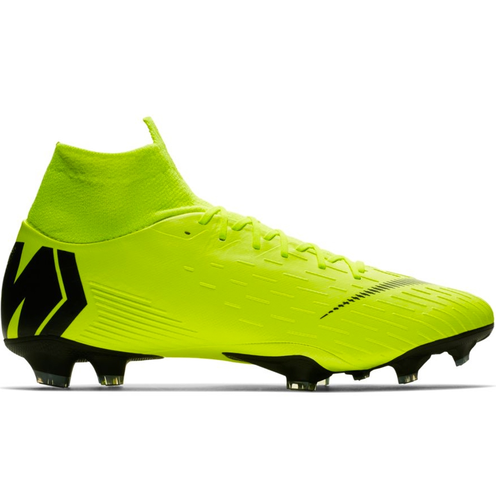 pretty nice cec27 f93be Nike Superfly 6 Pro FG Soccer Cleats (Volt/Black)