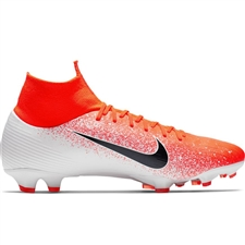 Nike Superfly 6 Pro FG Soccer Cleats (Hyper Crimson/Black/White)