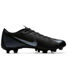 Nike Vapor XII Academy MG Soccer Cleats (Black)