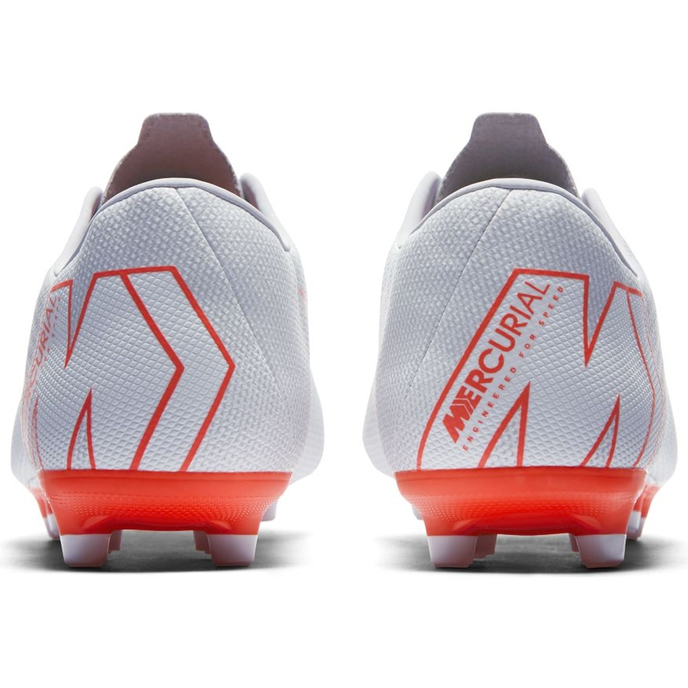 492c7557cee Nike Vapor XII Academy MG Soccer Cleats (Wolf Grey Bright Crimson ...