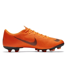 Nike Mercurial Vapor XII Academy FG / MG Soccer Cleats (Total Orange/Black/Volt)