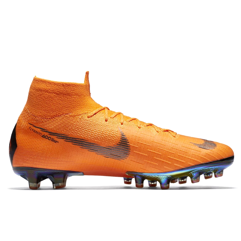 26b1b6a22cc Nike Mercurial Superfly VI Elite AG-Pro Soccer Cleats (Total Orange ...