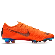 Nike Mercurial Vapor XII Elite FG Soccer Cleats (Total Orange/Black/Volt)