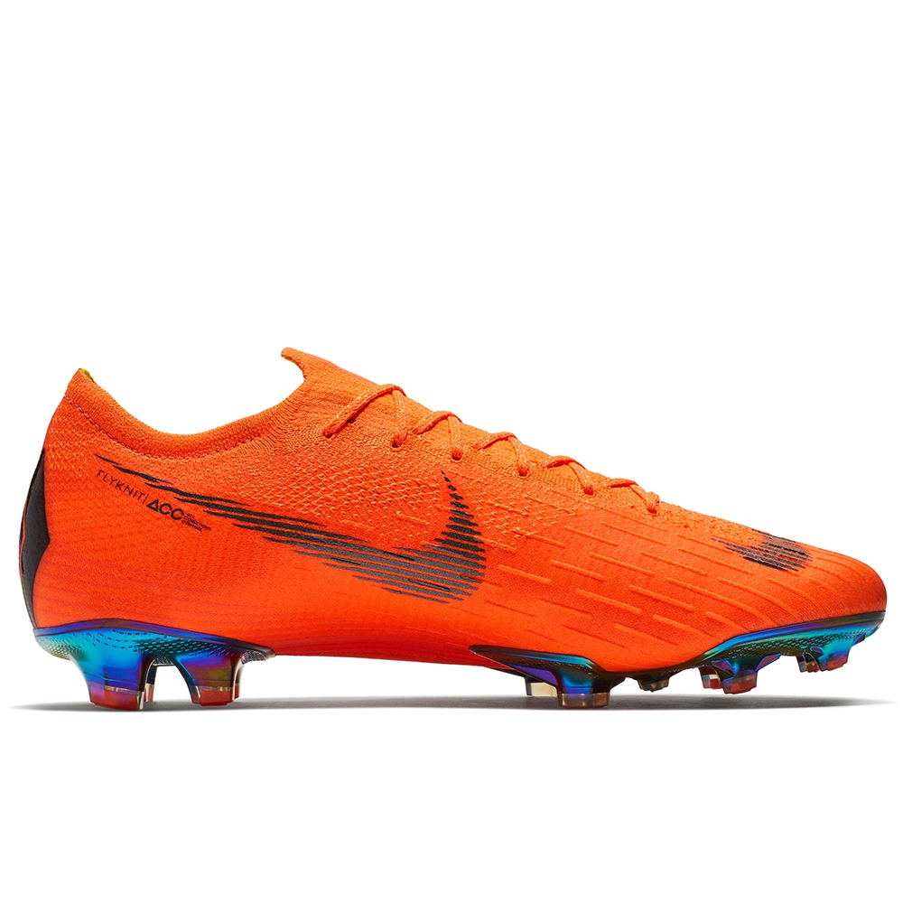 Nike Mercurial Vapor XII Elite FG Soccer Cleats (Total OrangeBlackVolt)