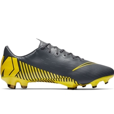 Nike Vapor 12 Pro FG Soccer Cleats (Dark Grey/Black)