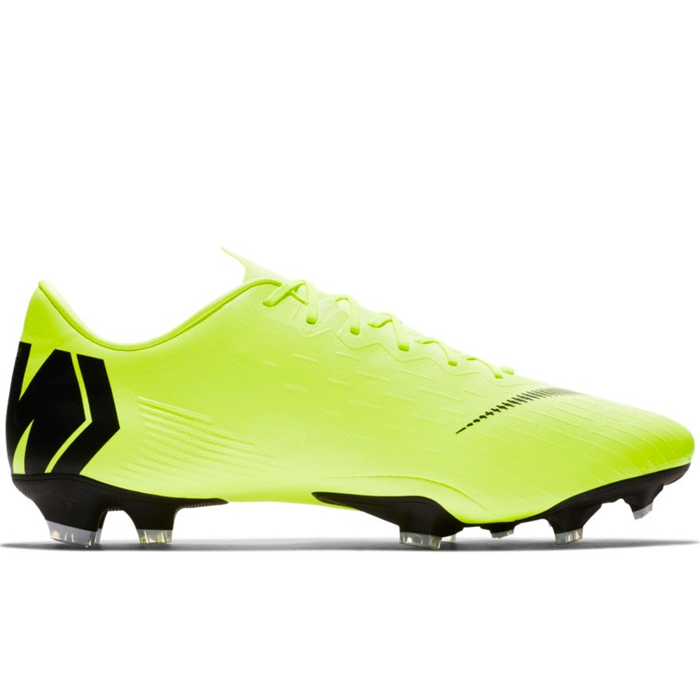 be6ae9a53 Nike Vapor 12 Pro FG Soccer Cleats (Volt Black)