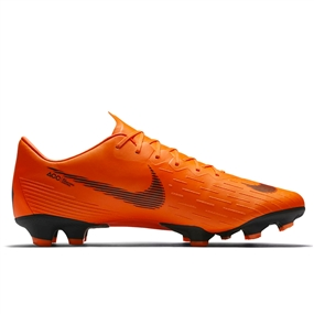 Nike Mercurial Vapor XII Pro FG Soccer Cleats (Total Orange/Black/Volt)