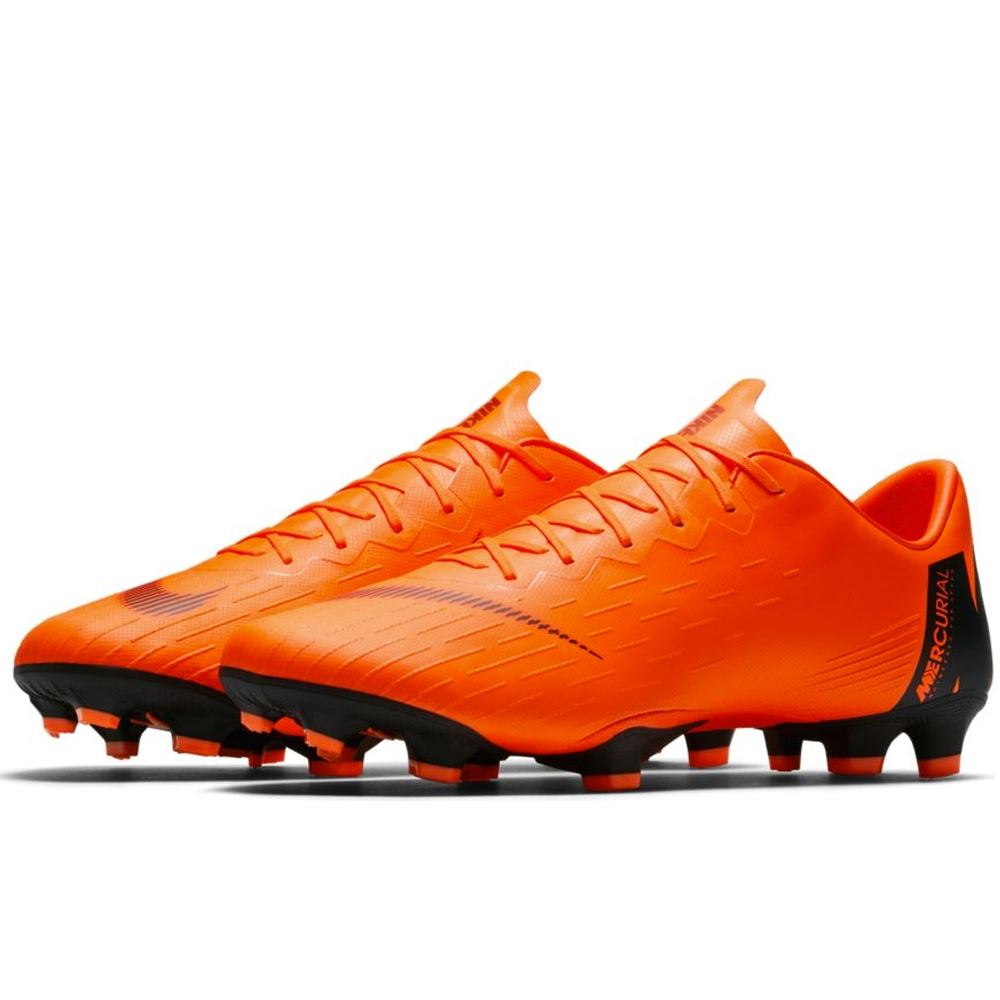 7d329d4c8 Nike Mercurial Vapor XII Pro FG Soccer Cleats (Total Orange Black Volt)
