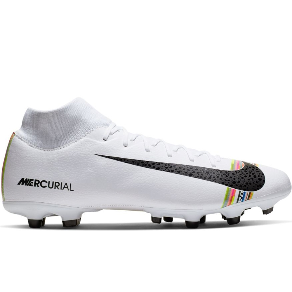 8cf30b01f Nike Superfly 6 Academy MG Soccer Cleats (White Black Pure Platinum ...