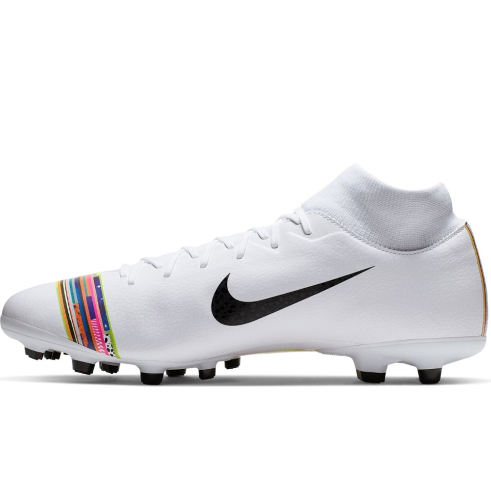 4511cf951e3 Nike Superfly 6 Academy MG Soccer Cleats (White Black Pure Platinum ...