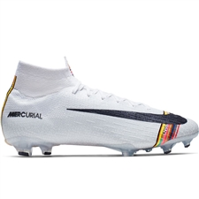 f68a8ae9a Nike Superfly 6 Elite FG Soccer Cleats (Pure Platinum Black White) ...