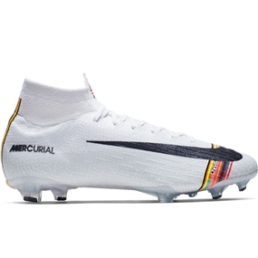 Nike Superfly 6 Elite FG Soccer Cleats (Pure Platinum/Black/White)
