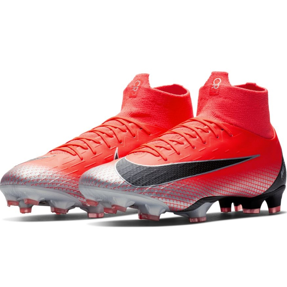 on sale 6fa48 12d49 Nike Superfly VI Pro CR7 FG Soccer Cleats (Bright ...