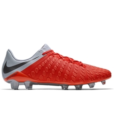Nike Phantom III Elite FG Soccer Cleats (Light Crimson/Metallic Dark Grey/Wolf Grey)