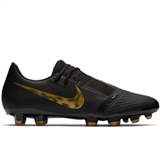 Nike Phantom Venom Academy FG Soccer Cleats (Black/Metallic Vivid Gold)