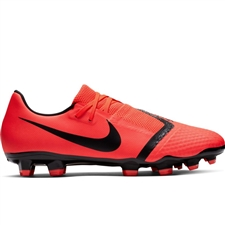 Nike Phantom Venom Academy FG Soccer Cleats (Bright Crimson/Black)