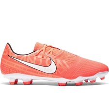 Nike Phantom Venom Academy FG Soccer Cleats (Bright Mango/White/Orange Pulse)